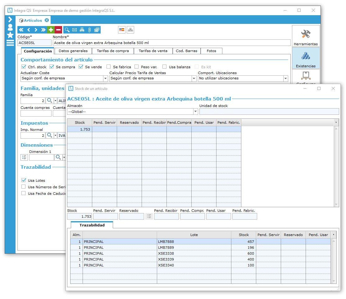 IntegraQS es el software de gestión ERP totalmente adaptable